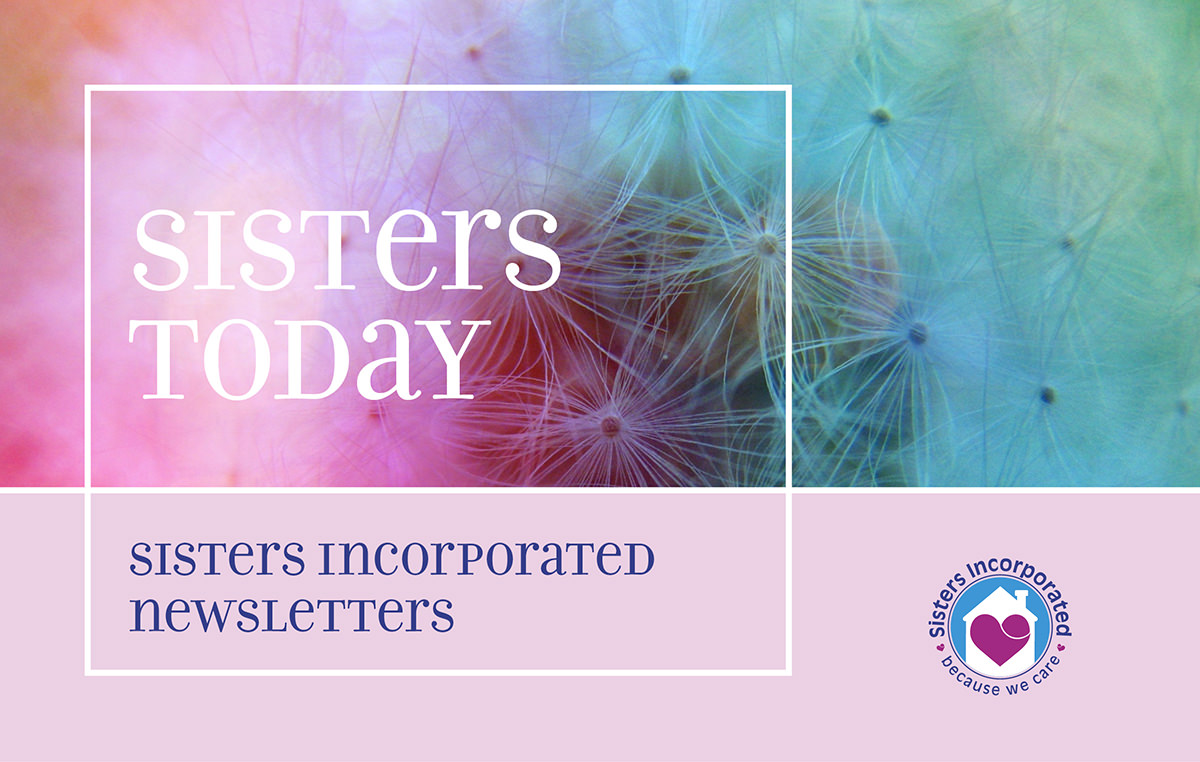 Sisters Incorporated Newsletter Banner