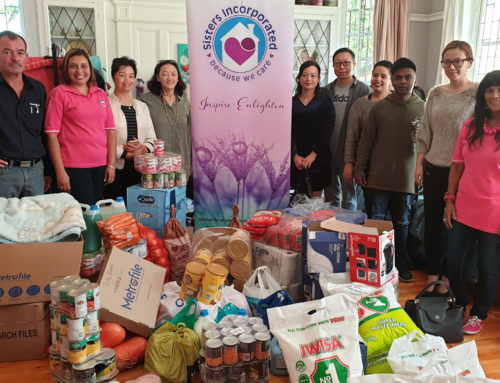 Women's home gets donation